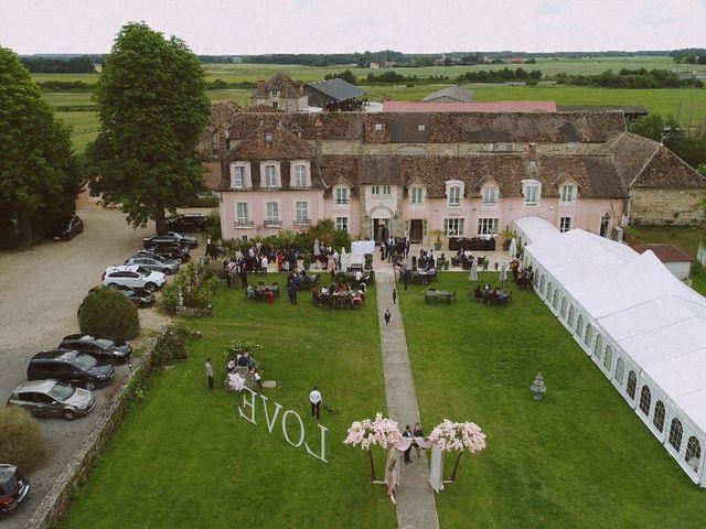 Le mariage de David et Sandra à Les Écrennes, Seine-et-Marne 1