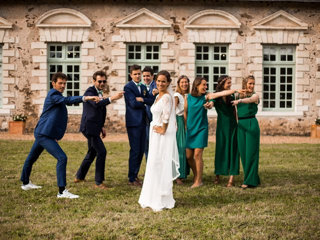 Le mariage de Simon et Clotilde à Saint-Georges-sur-Loire, Maine et Loire 15