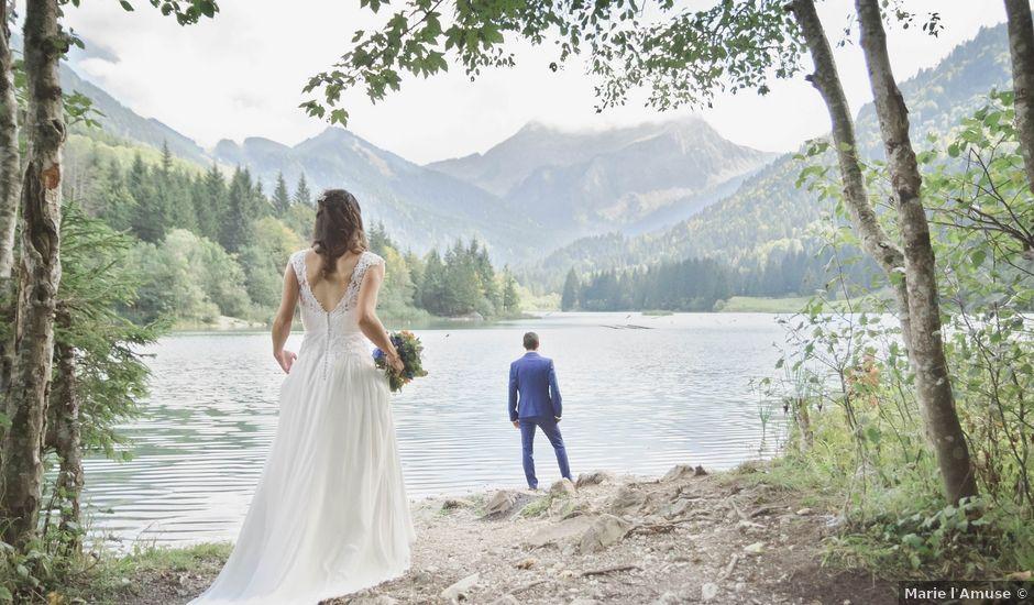 Le mariage de Arnaud et Marine à Habère-Poche, Haute-Savoie