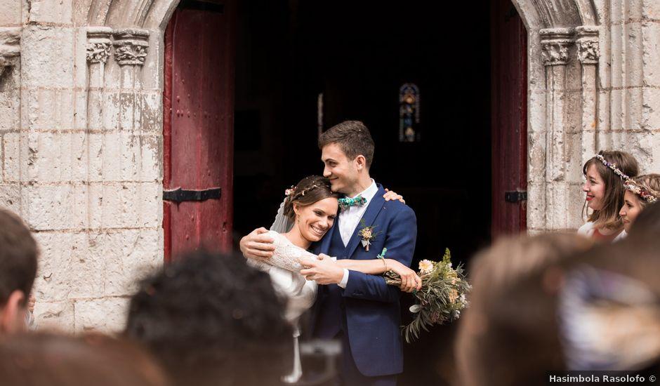 Le mariage de Simon et Clotilde à Saint-Georges-sur-Loire, Maine et Loire