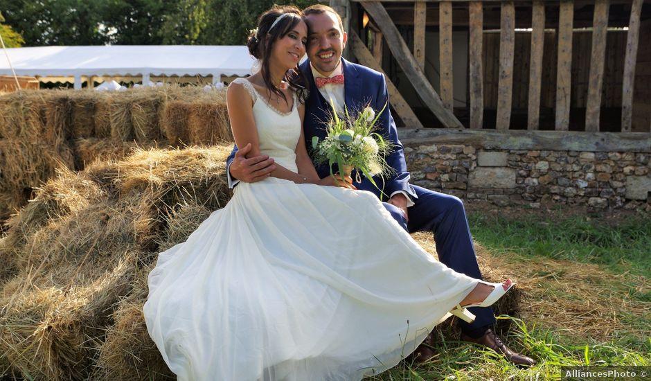Le mariage de Antoine et Sarah à Bonneville-Aptot, Eure
