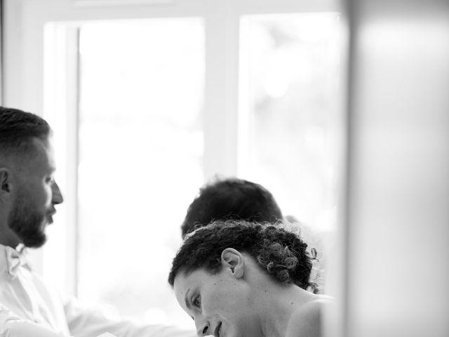 Le mariage de Damien et Eva à Villebois, Ain 4