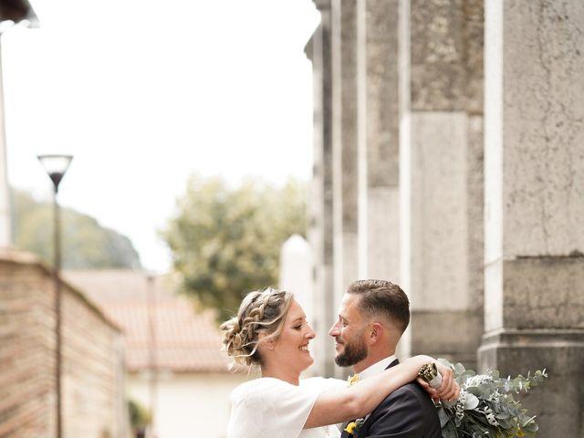 Le mariage de Damien et Eva à Villebois, Ain 13