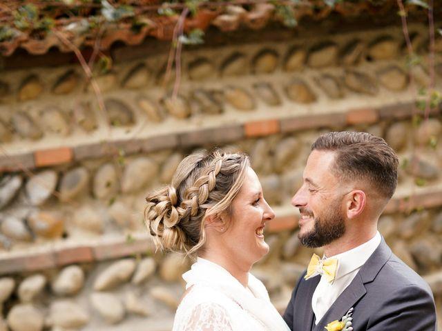 Le mariage de Damien et Eva à Villebois, Ain 15