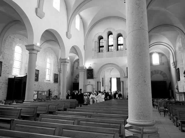 Le mariage de Damien et Eva à Villebois, Ain 2