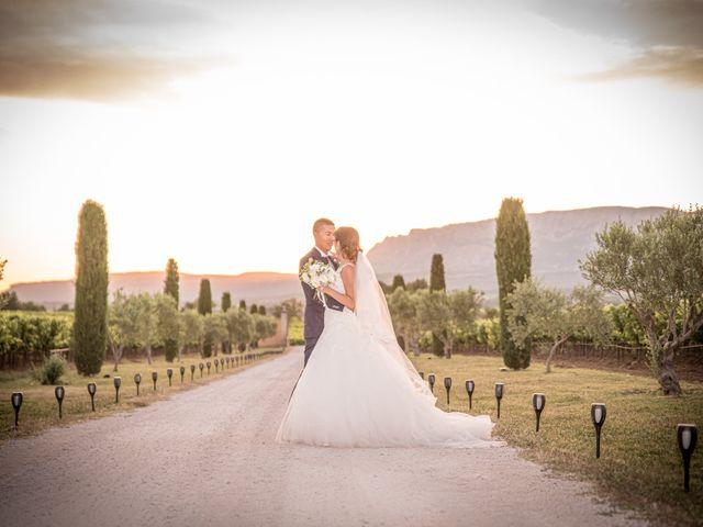 Le mariage de Alexandre et Aurélie à Pourrières, Var 16