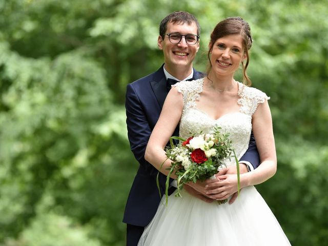 Le mariage de Pierre et Delphine à Urmatt, Bas Rhin 8