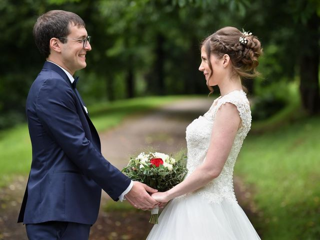 Le mariage de Pierre et Delphine à Urmatt, Bas Rhin 9