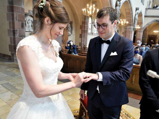 Le mariage de Pierre et Delphine à Urmatt, Bas Rhin 20