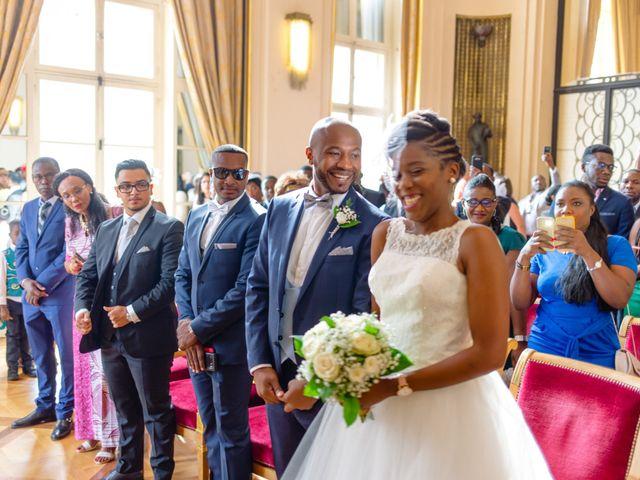 Le mariage de Zoubair et Coralie à Paris, Paris 38