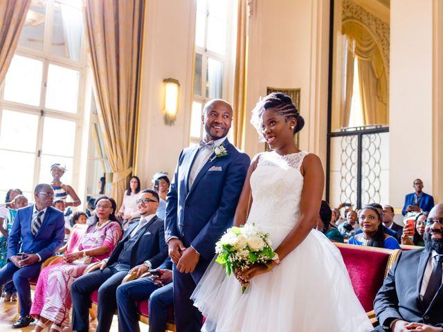 Le mariage de Zoubair et Coralie à Paris, Paris 40