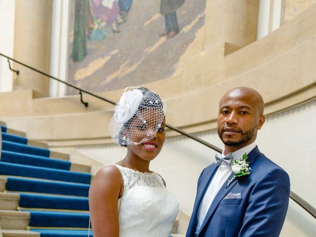 Le mariage de Zoubair et Coralie à Paris, Paris 42