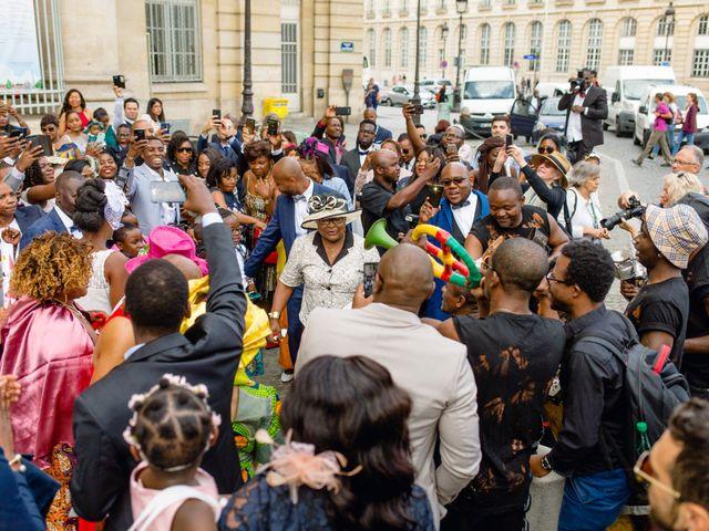 Le mariage de Zoubair et Coralie à Paris, Paris 43