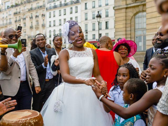 Le mariage de Zoubair et Coralie à Paris, Paris 44
