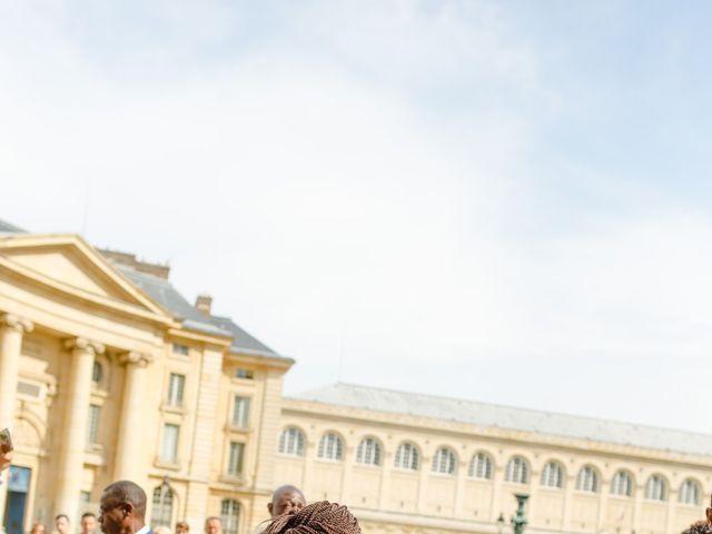 Le mariage de Zoubair et Coralie à Paris, Paris 46
