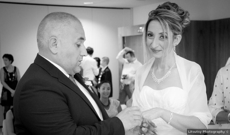 Le mariage de Christophe et Essia à Labarthe-sur-Lèze, Haute-Garonne