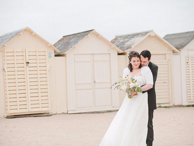 Le mariage de Quentin et Amélie à Bénouville, Calvados 4