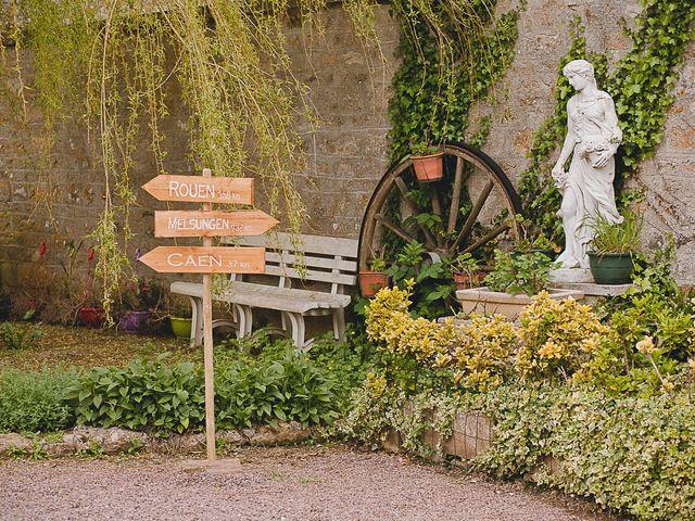 Le mariage de Quentin et Amélie à Bénouville, Calvados 8