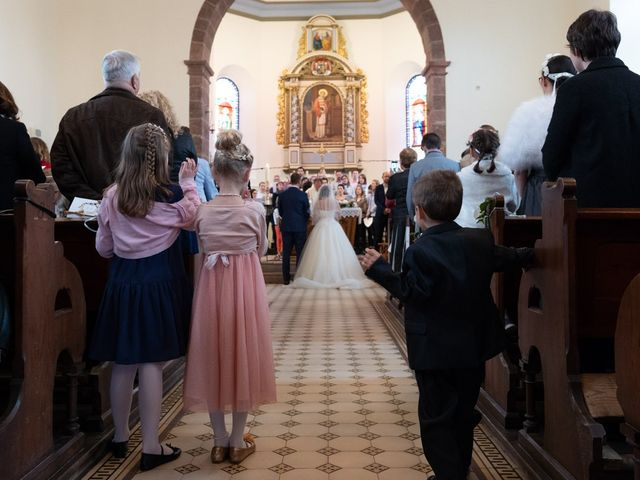 Le mariage de Adrien et Marjorie à Gougenheim, Bas Rhin 26