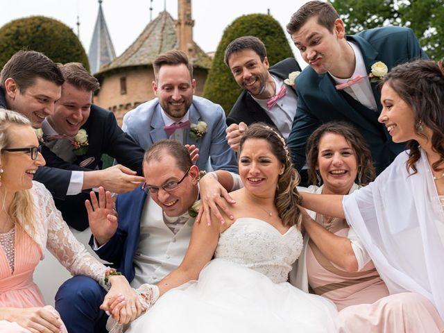 Le mariage de Adrien et Marjorie à Gougenheim, Bas Rhin 44