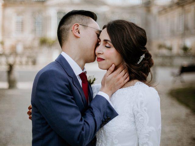 Le mariage de Truong et Meriem à Montagne, Gironde 4