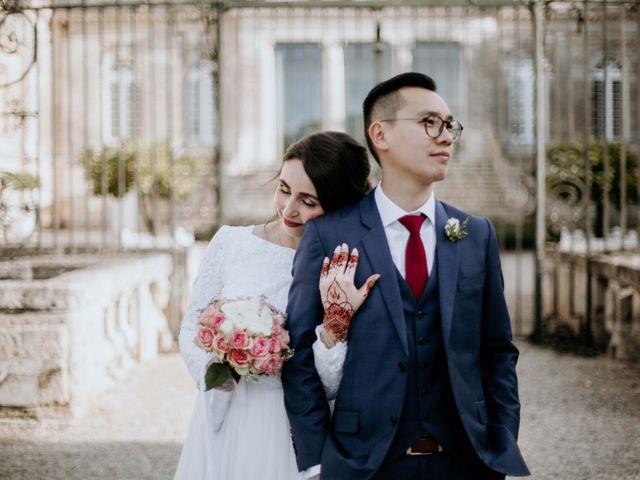Le mariage de Truong et Meriem à Montagne, Gironde 6