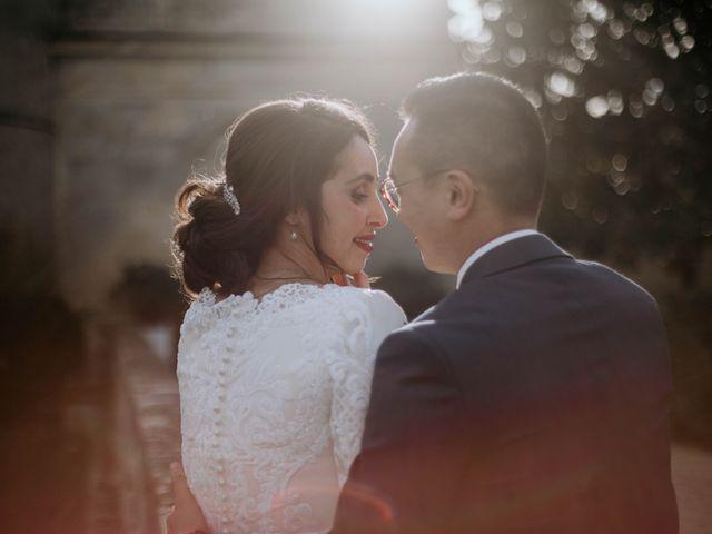 Le mariage de Truong et Meriem à Montagne, Gironde 9