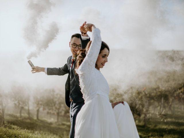 Le mariage de Truong et Meriem à Montagne, Gironde 16