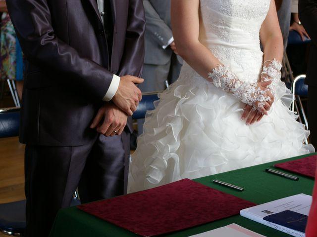 Le mariage de Audrey et Brice à Brienne-le-Château, Aube 59