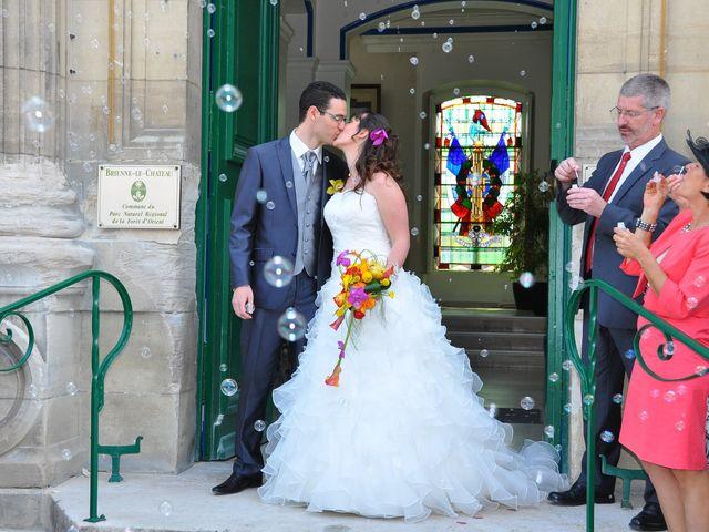 Le mariage de Audrey et Brice à Brienne-le-Château, Aube 71