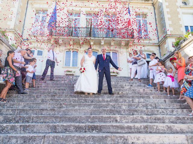 Le mariage de Yannick et Aline à Montignac-Charente, Charente 63