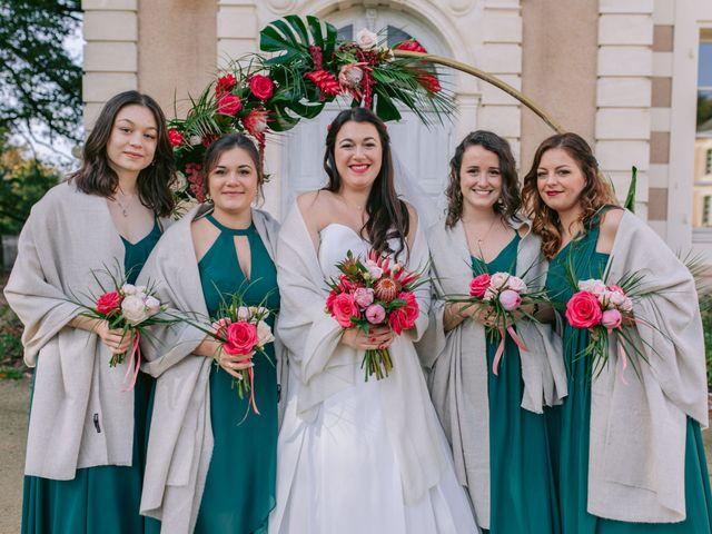 Le mariage de David et Lauriane à Iffendic, Ille et Vilaine 33
