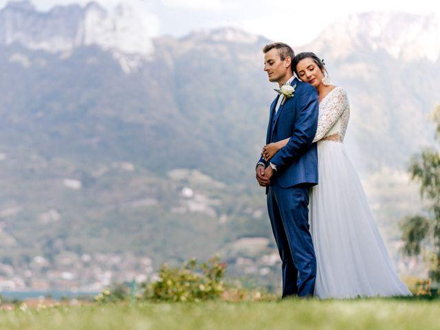 Le mariage de Florian et Camille à Duingt, Haute-Savoie 14