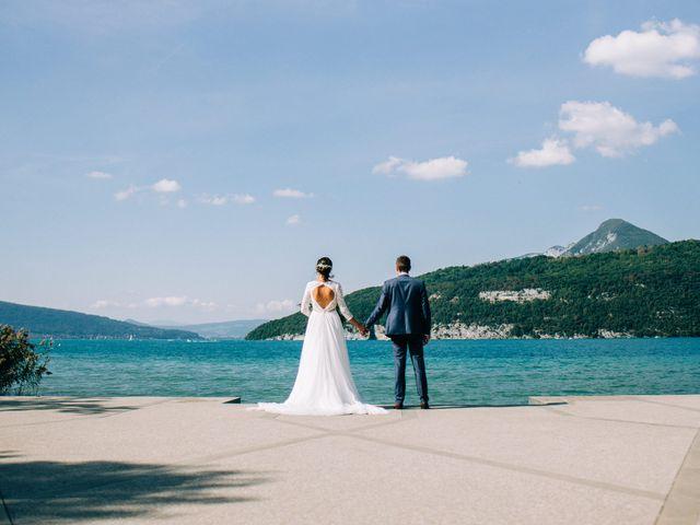 Le mariage de Florian et Camille à Duingt, Haute-Savoie 17