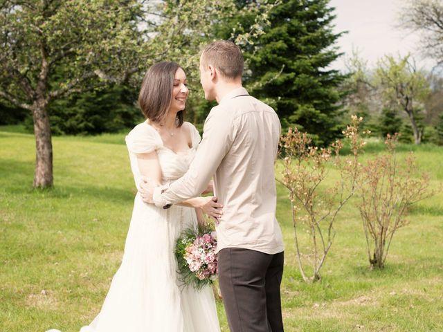 Le mariage de Julie et Alex à Sanchey, Vosges 7