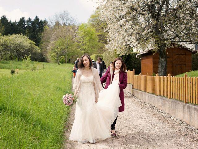 Le mariage de Julie et Alex à Sanchey, Vosges 8