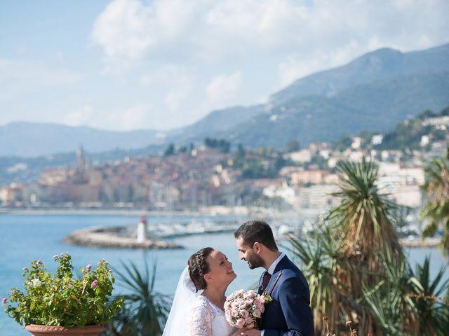 Le mariage de Nicholas et Valentine à Menton, Alpes-Maritimes 34