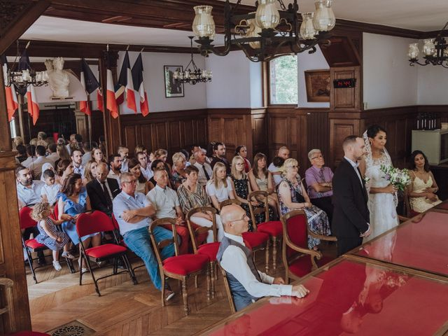 Le mariage de Guillaume et Zorah à Varennes-Jarcy, Essonne 11