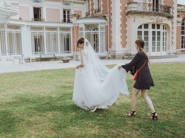 Le mariage de Guillaume et Zorah à Varennes-Jarcy, Essonne 24