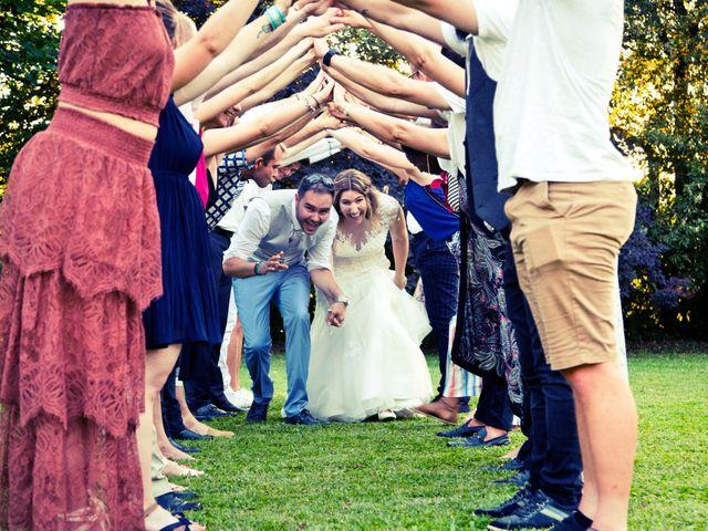 Le mariage de Gérald et Virginie à Ambronay, Ain 1