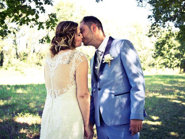 Le mariage de Gérald et Virginie à Ambronay, Ain 8