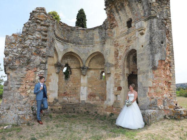 Le mariage de Steven et Amandine à Saint-Paul-les-Fonts, Gard 2