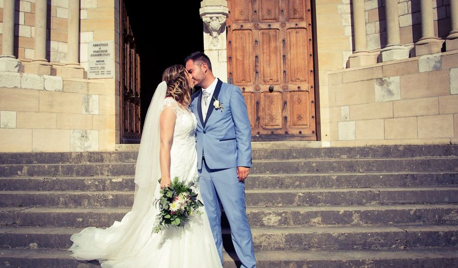 Le mariage de Gérald et Virginie à Ambronay, Ain