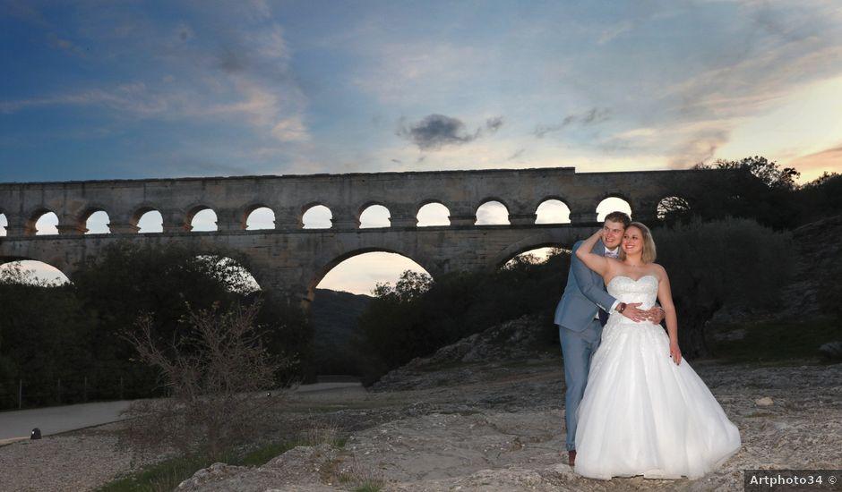 Le mariage de Steven et Amandine à Saint-Paul-les-Fonts, Gard