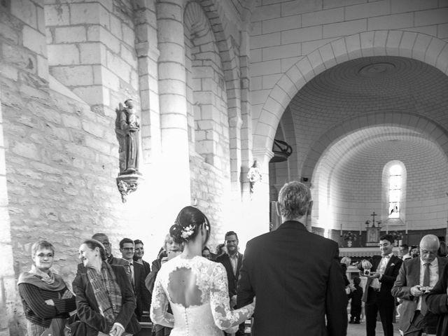 Le mariage de Nathanaël et Laure à Massognes, Vienne 6