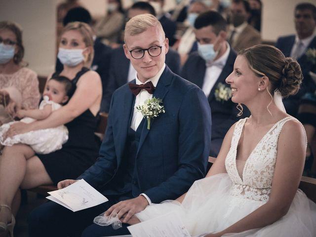 Le mariage de Alban et Lucie à Gaillon, Eure 25