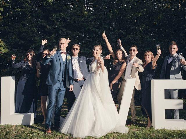 Le mariage de Alban et Lucie à Gaillon, Eure 50