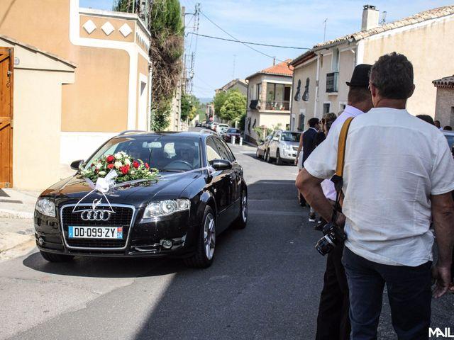 Le mariage de Alexandre et Marina à Nébian, Hérault 1