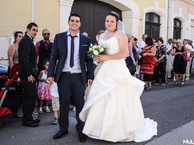 Le mariage de Alexandre et Marina à Nébian, Hérault 2