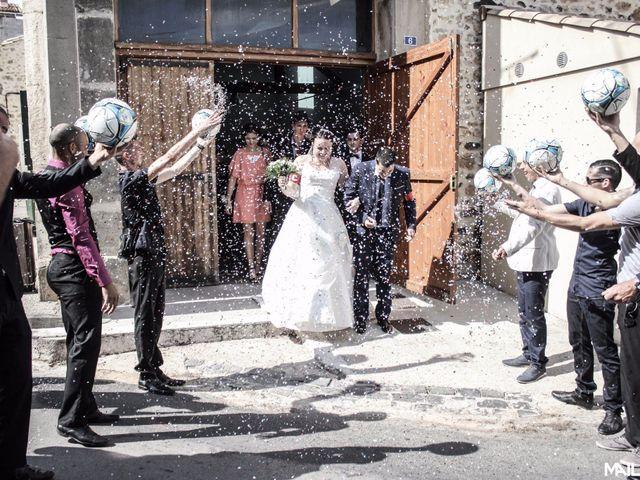 Le mariage de Alexandre et Marina à Nébian, Hérault 6